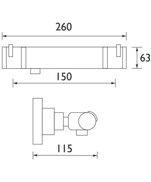 Technical drawing 3230 / AR2 SHXVOFF C