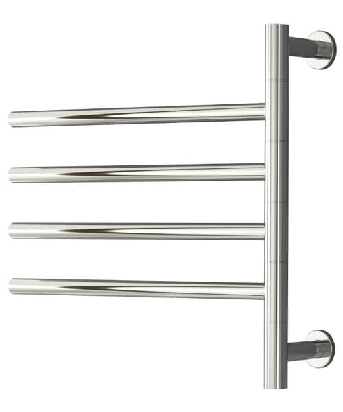 Reina Rance 500 x 475mm Dry Electric Stainless Steel Towel Rail