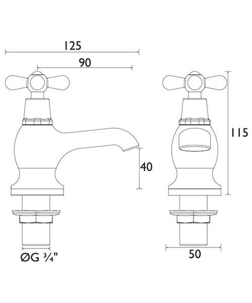Technical drawing 21616 / TRHC01