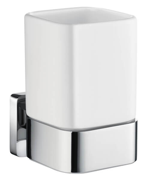 Smedbo Ice 105mm Height Tumbler With Holder