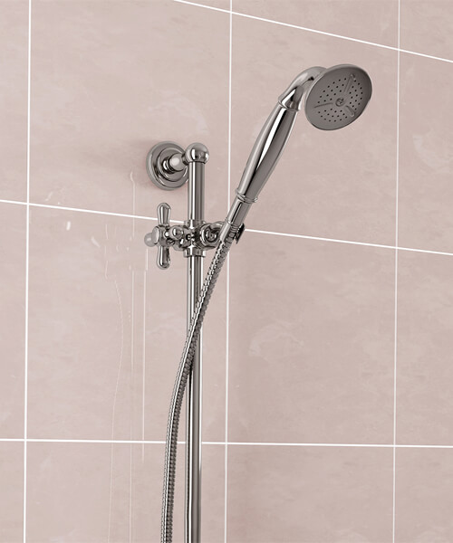 Additional image of Bristan Traditional Deluxe Shower Kit