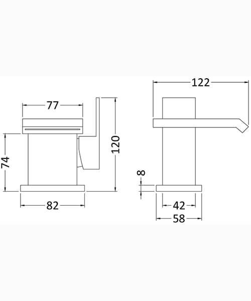 Technical drawing 53530 / TMI305