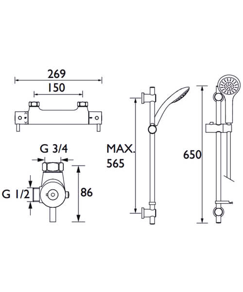 Technical drawing 51441 / PM SHXMMCTFF C