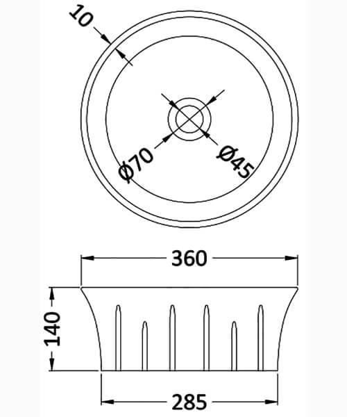 Technical drawing 59648 / NBV167