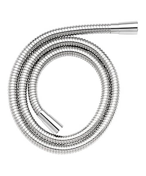 Croydex 2m Stainless Steel Reinforced Shower Hose With 11mm Bore