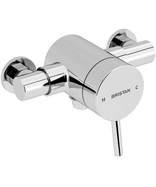 Bristan Prism Thermostatic Exposed Shower Valve