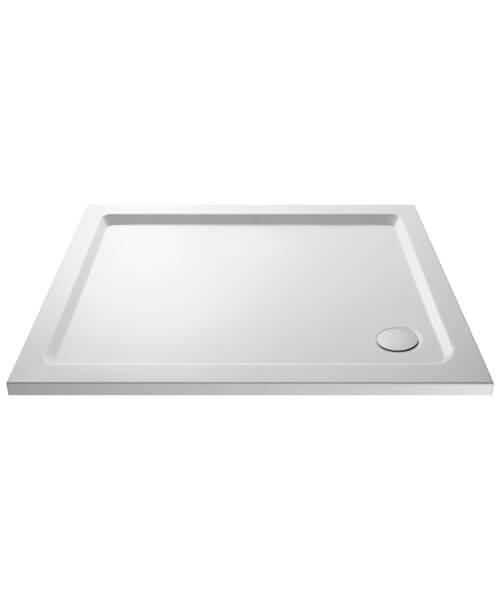 Hudson Reed Pearlstone 40mm Slimline Acrylic Rectangular Shower Tray