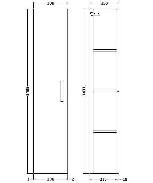 Technical drawing 58166 / MOE161
