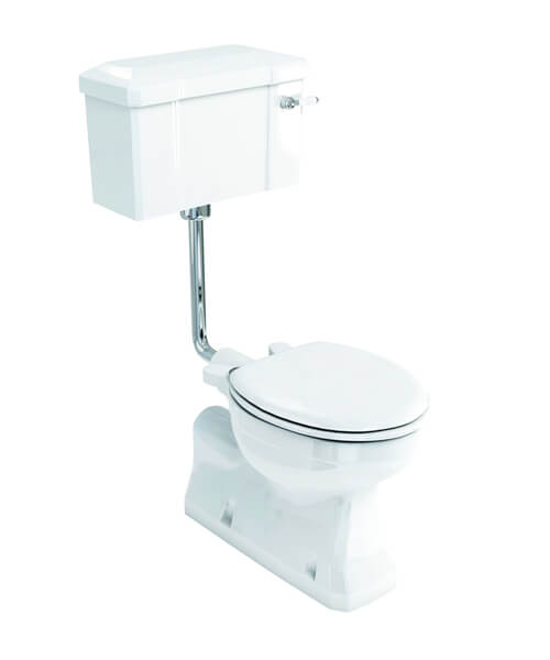 Additional image of Burlington S-Trap Low Level Toilet - Floor Mounted