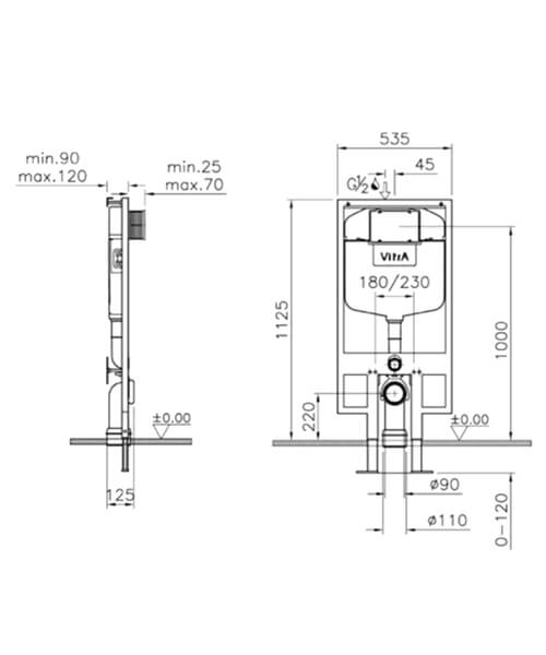 Technical drawing 64161 / 748-4800-01