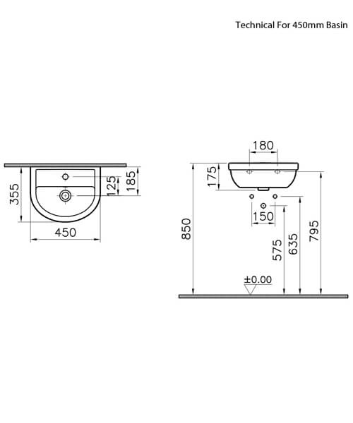 Technical drawing 64163 / 5751L003-0999