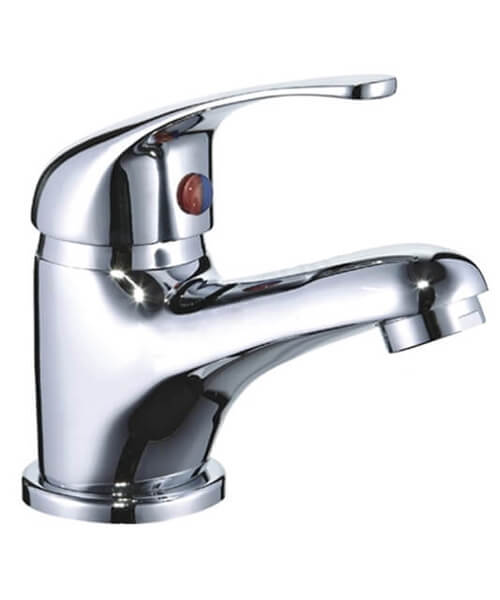 Essential Conway WRAS Approved Basin Mixer Tap With Click-Clack Waste