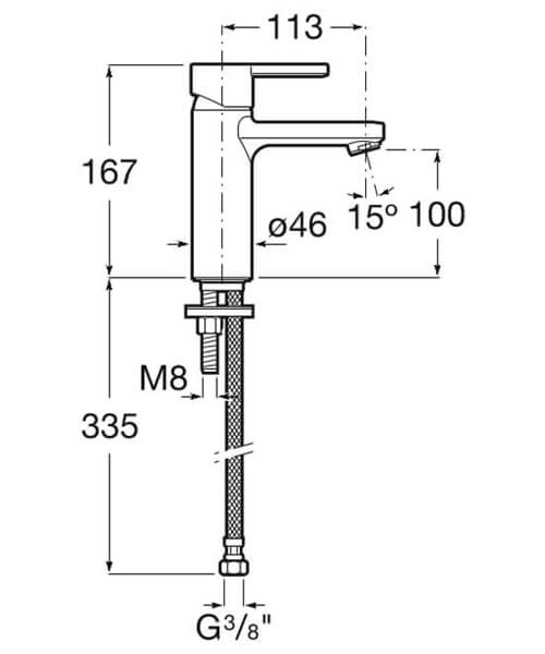Technical drawing 41892 / 5A3296C0R