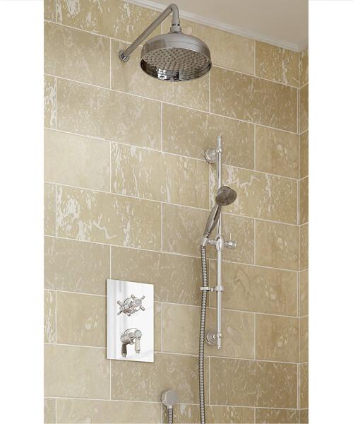 Bristan Renaissance 2 Recessed Dual Control Shower Pack