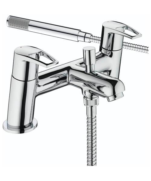 Bristan Smile Deck Mounted 2 Hole Bath Shower Mixer Tap