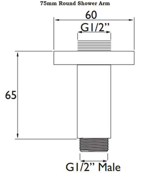 Technical drawing 4862 / ARM CFRD01 C