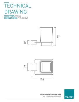 Technical drawing 576105 / PHA-183-C/P