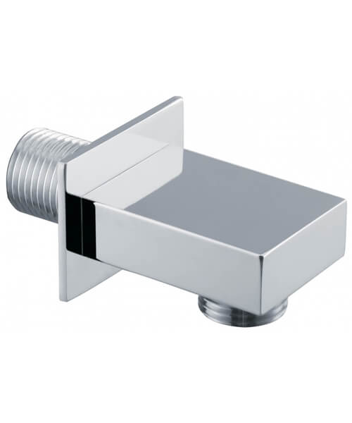 Alternate image of Triton Chrome Shower Wall Outlet