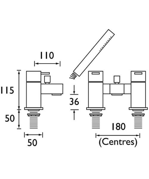Technical drawing 1225 / QD BSM C