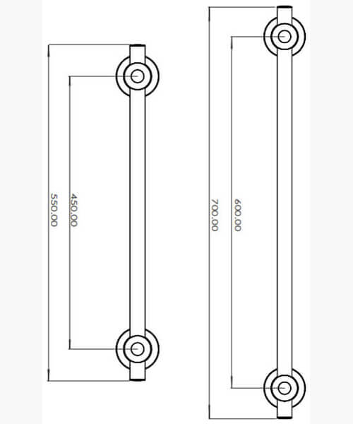 Technical drawing 61097 / TGRCARE450CHR