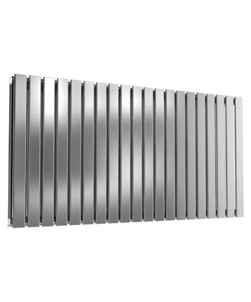 Reina Flox 600mm High Double Panel Stainless Steel Radiator