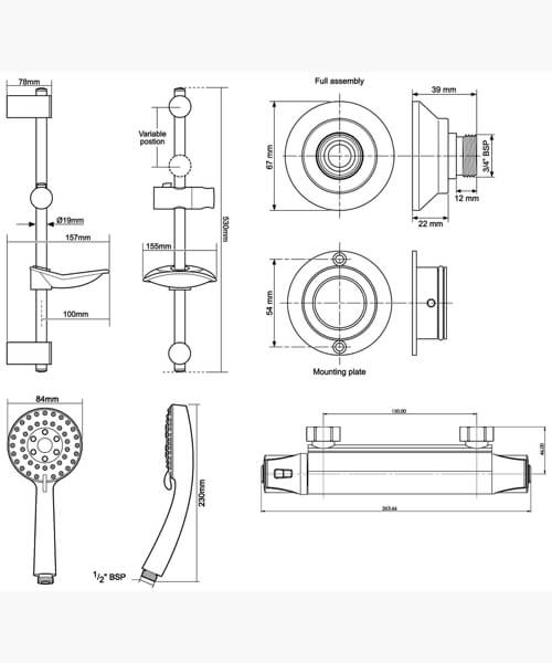 Technical drawing 62272 / UNDETHBMCTLE