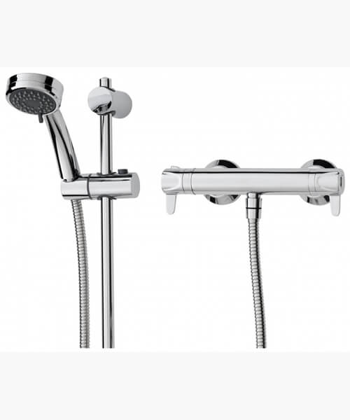Additional image of Triton Dene Lever Cool Touch Bar Mixer Shower Kit