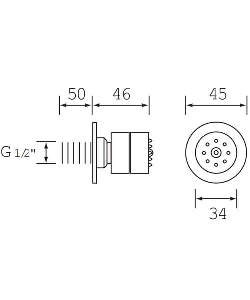 Technical drawing 1576 / JET3 C