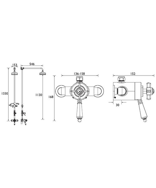 Technical drawing 49421 / SDCDUAL07