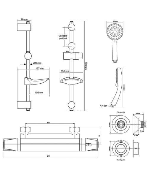 Technical drawing 62271 / UNDETHBMLE