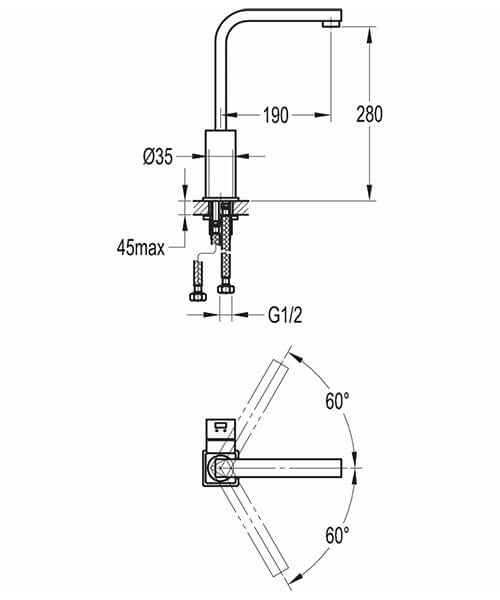 Technical drawing 40095 / STKITCH