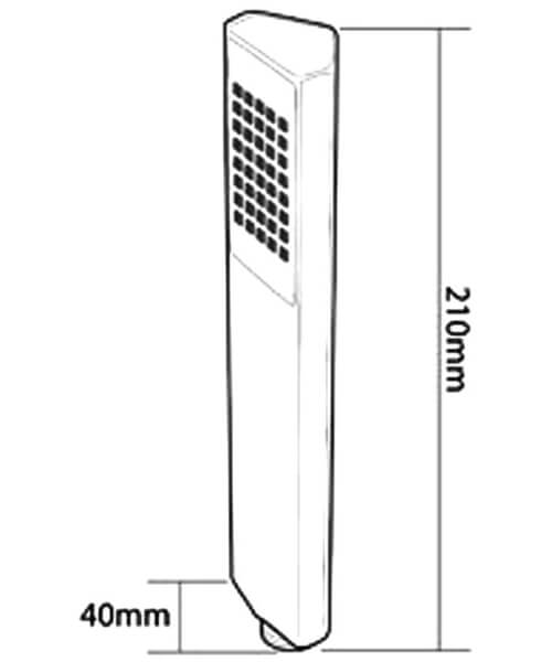 Technical drawing 14434 / TSHMELL1CH