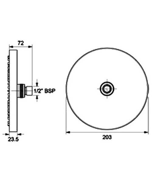Technical drawing 11863 / TSHFEMILCH