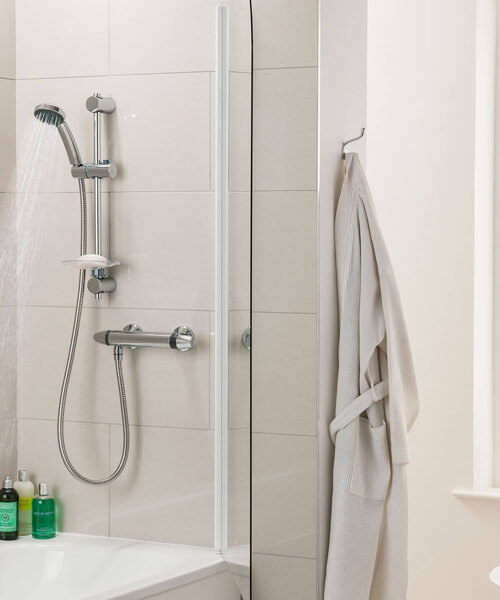 Triton Exe Chrome Bar Mixer Shower Set