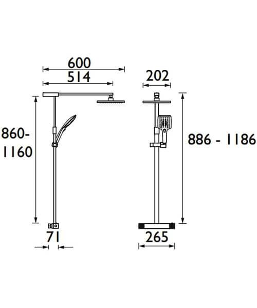 Technical drawing 3276 / QD SHXDIVFF C