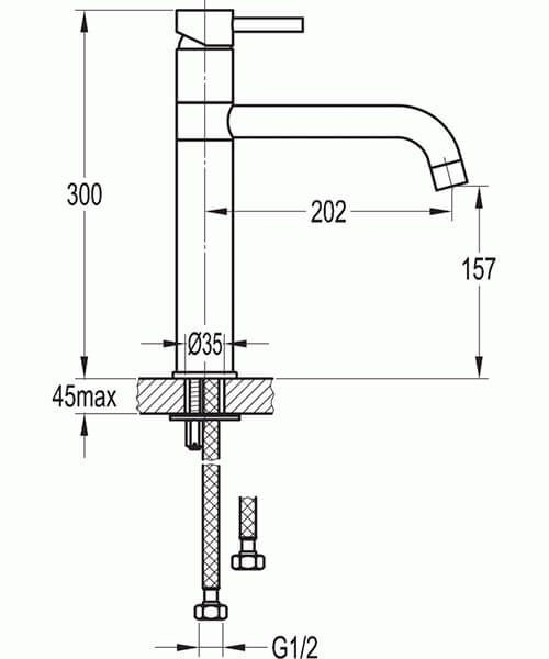 Technical drawing 40092 / LVSWKITCH