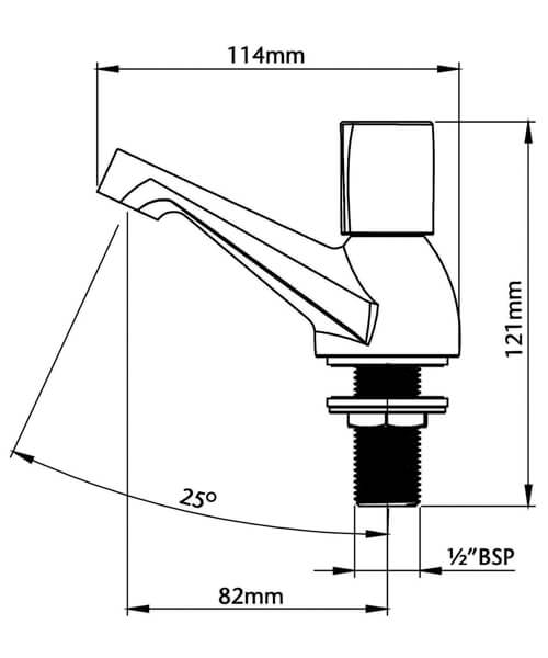 Technical drawing 50974 / UNEXTPBAS