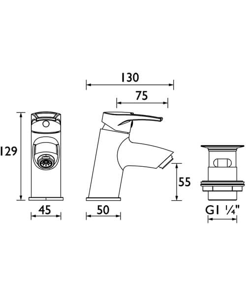Technical drawing 4960 / SM BAS C