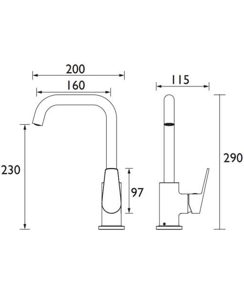 Technical drawing 54728 / BLB EFSNK C