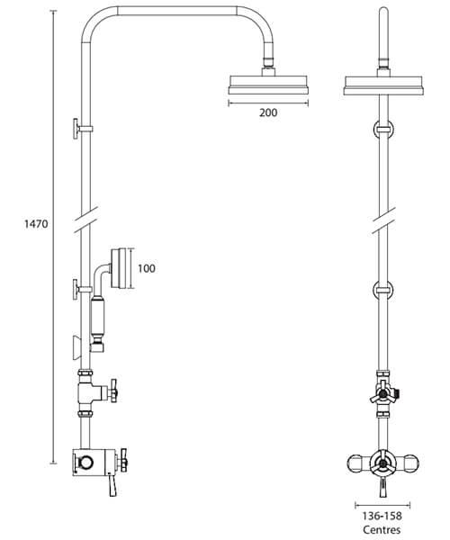 Technical drawing 49445 / SGRDDUAL04