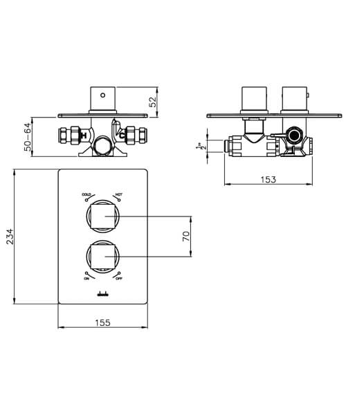 Technical drawing 45199 / AB2209