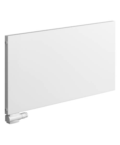 Reina Alpan 600mm High White Aluminium Horizontal Radiator