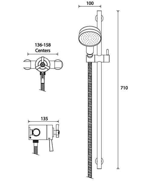 Technical drawing 49446 / SGRDDUAL05