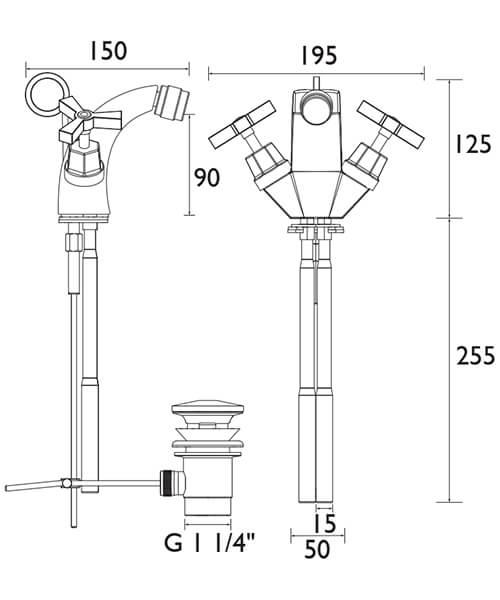 Technical drawing 21565 / TGRDC05