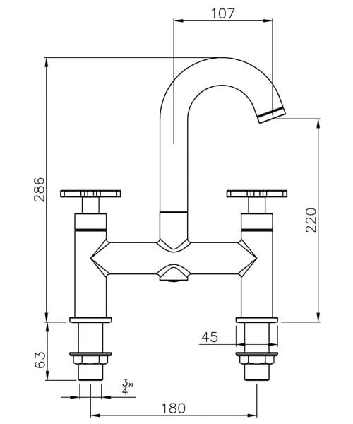 Technical drawing 35867 / AB1064