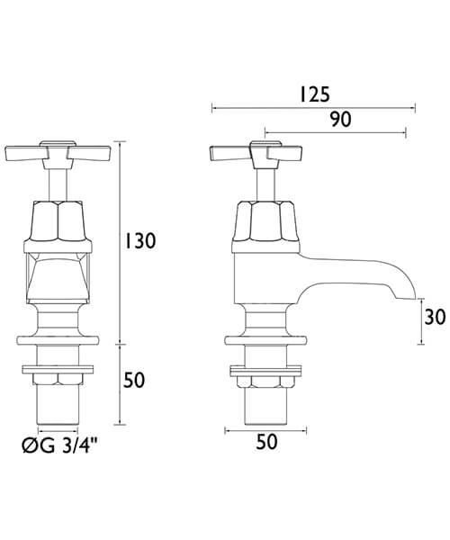 Technical drawing 21562 / TGRDC01