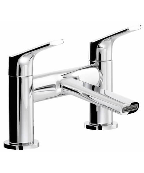 Abode Squire Deck Mounted Chrome Bath Filler Tap