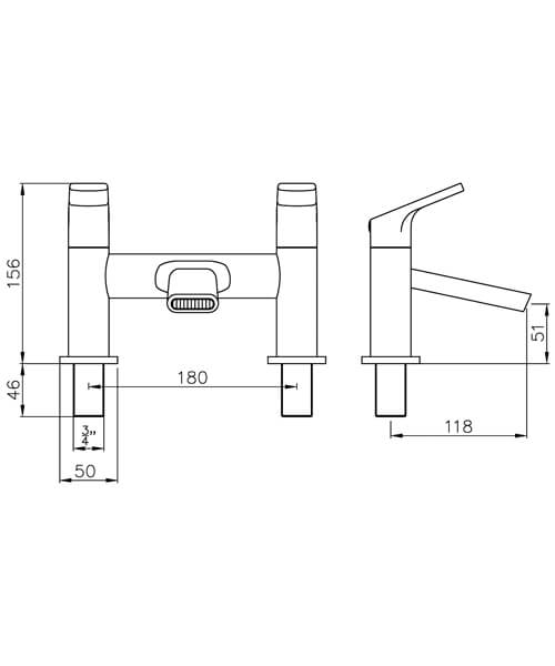 Technical drawing 61081 / AB2651
