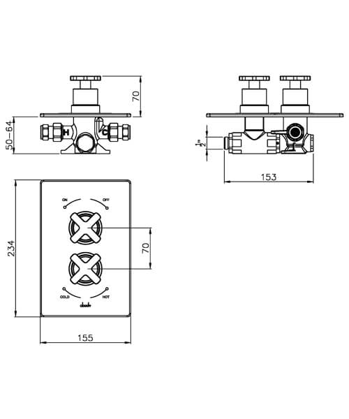 Technical drawing 35862 / AB2206