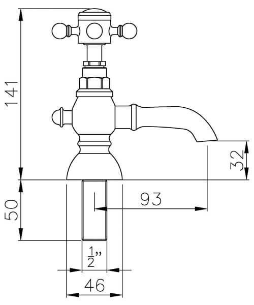 Technical drawing 61087 / AB2680